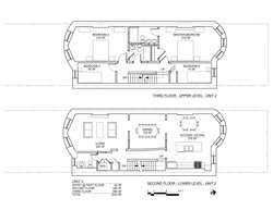 STERLING PLACE PLANS 2ND AND 3RD FLOORS