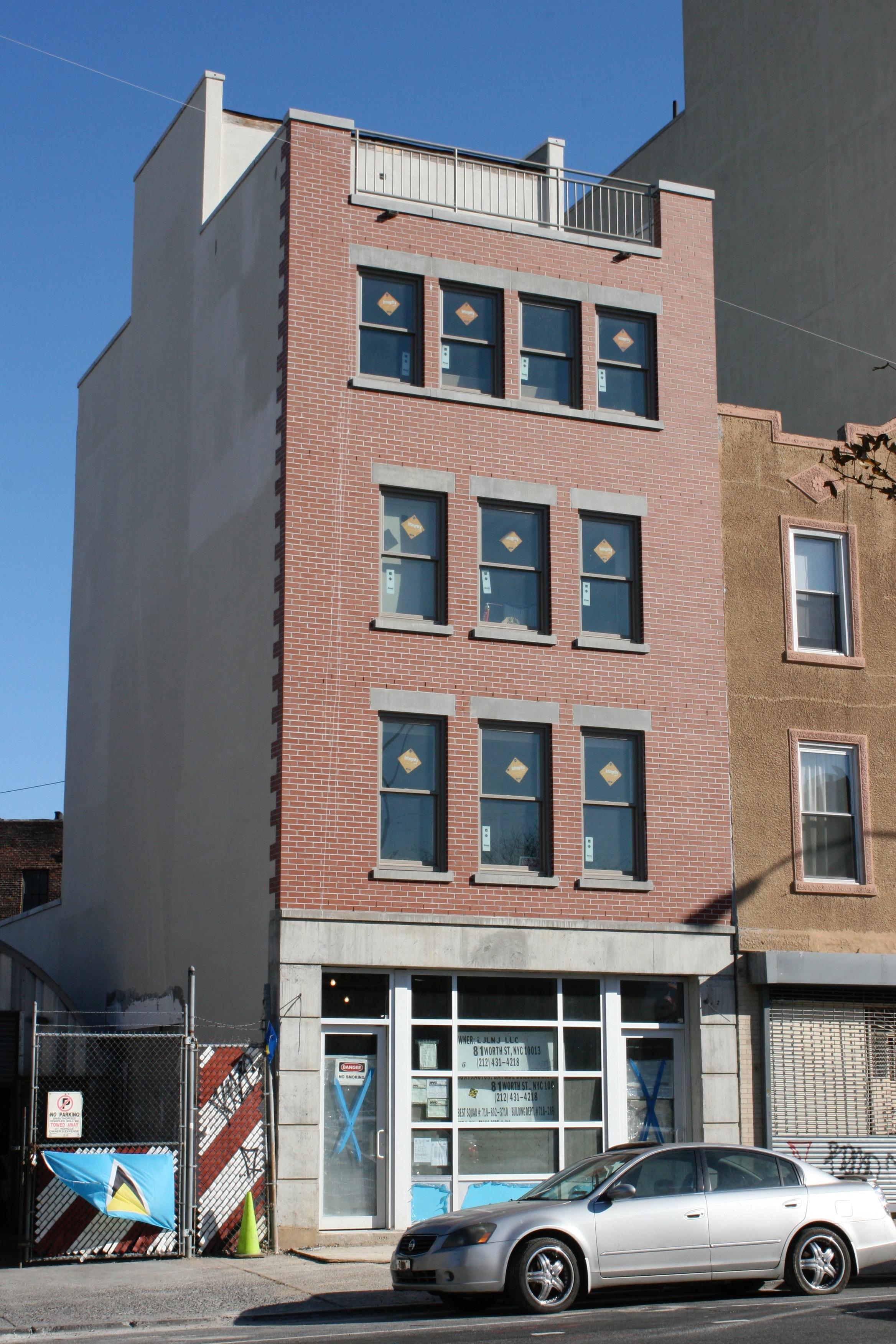 Washington Avenue Front Elevation