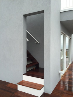ENTRY TO ROOF DECK STAIR