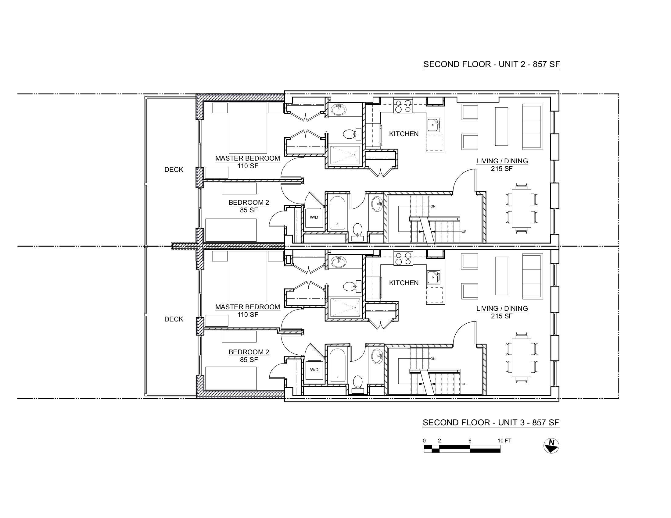 RYERSON STREET PLANS 2ND FLOORS
