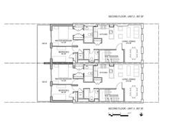 RYERSON STREET PLANS 2ND FLOORS