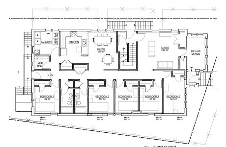 University Ave floor plan