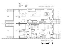 RYERSON STREET PLANS 1ST FLOORS