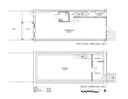 MARCUS GARVEY PLANS CELLAR & FIRST FLOORS