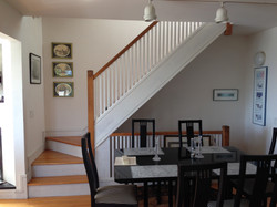 INTERIOR STAIR TO MASTER BEDROOM SUITE