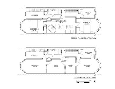 MADISON STREET PLANS 2ND FLOOR