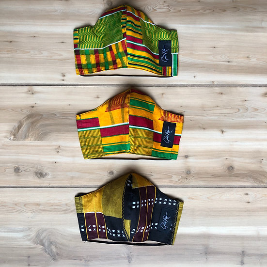 Kente Masks