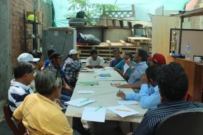 Directivos de 11 asociaciones de recicladores participaron en Taller de Oratoria y Expresión Corpora