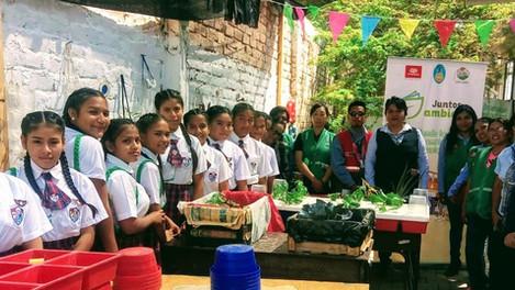 PETROPERÚ impulsa conciencia ambiental en escolares norteños
