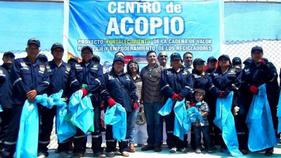 Se inauguró Centro de Acopio de Residuos Reciclables en Huacho