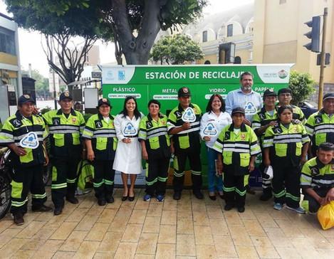 Se inaugura el primer punto de reciclaje en Barranco