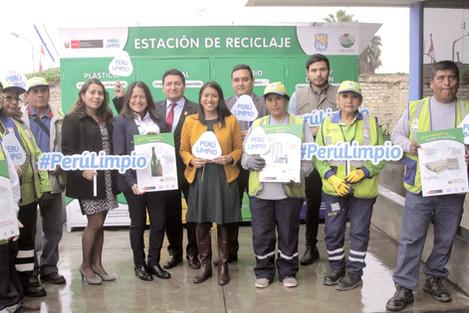 Villa El Salvador se une a la lista de distritos con Estación de Reciclaje