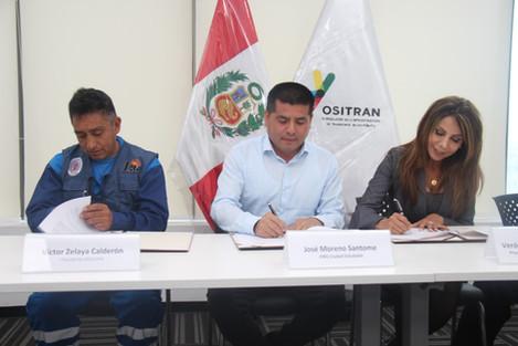 Le damos la bienvenida a OSITRAN a la familia de Ciudad Saludable
