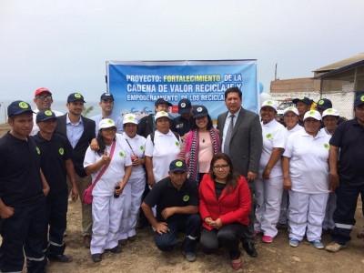 Se inauguró centro de acopio de residuos sólidos en Chancay