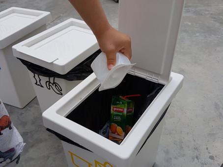 A l'escola i a casa, reciclem!