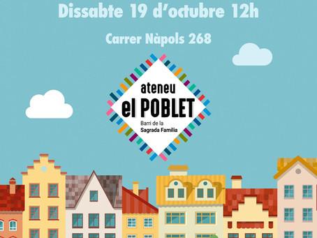 Aquest any al barri, estrenem Ateneu per la Festa de la Tardor!
