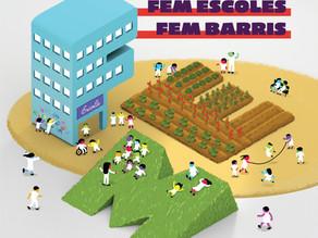 Transformem el pati de l'escola amb els pressupostos participatius de Barcelona