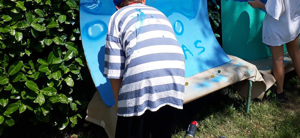 Atelier d'initiation Grafffiti Art
