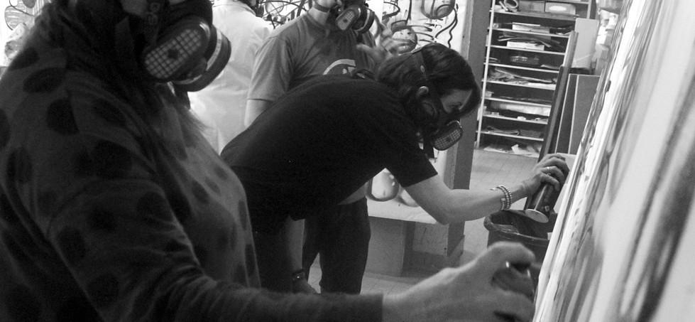 Ateliers graff École d'Art municipale de Romans