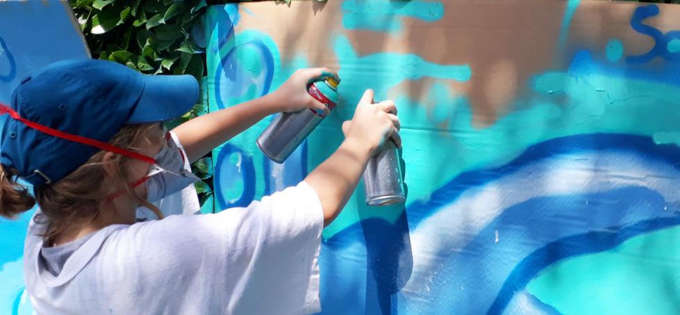 Atelier peinture aérosol
