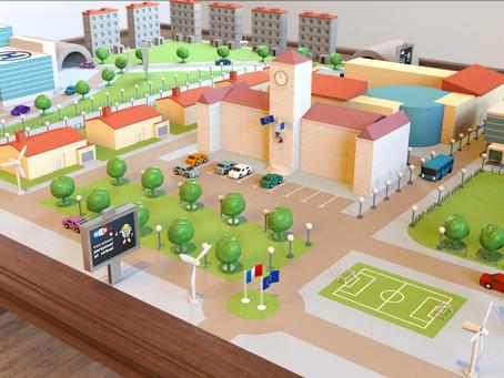 Animation 3d site universitesdesmairies.fr