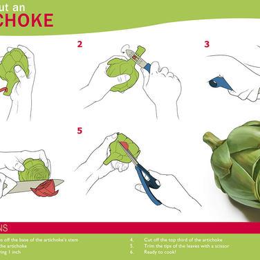 How to Cut an Artichoke