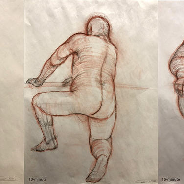 Short Pose Figure Drawings