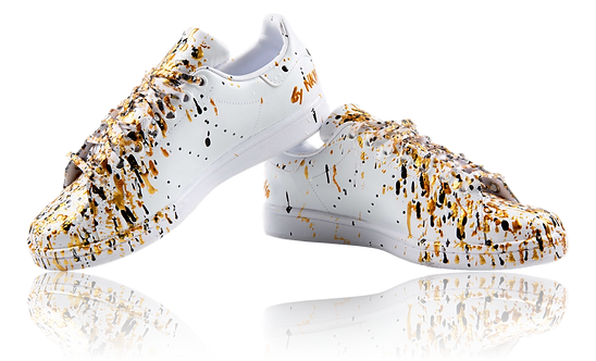 Sneakers blanches  – Gold digger