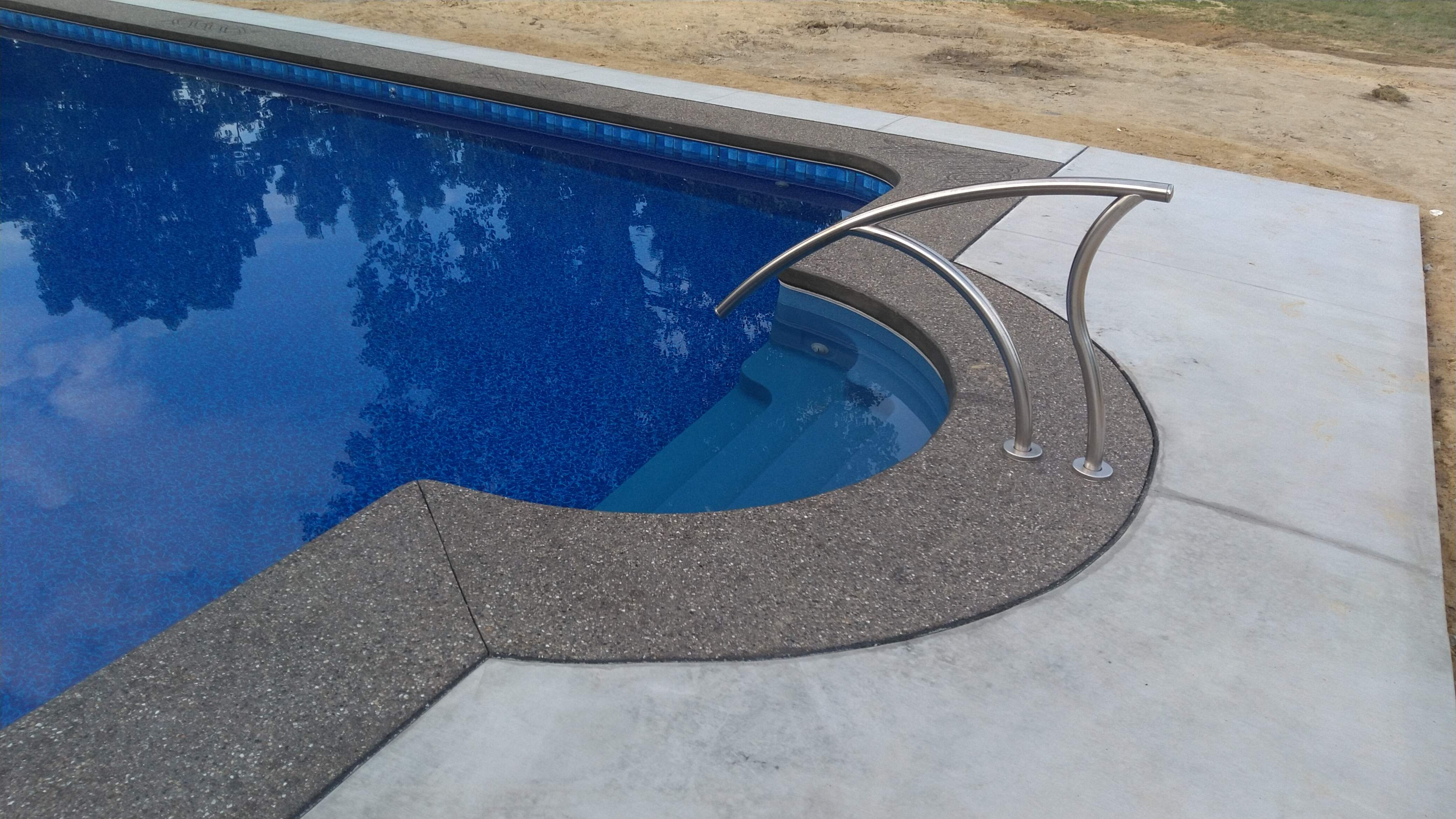 Exposed Agg Pool Coping