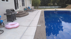 Exposed Agg Pool Coping with Stencil