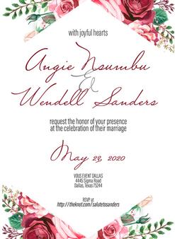 Nsumbu Wedding Invite