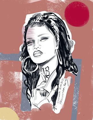 Rihanna Zombie