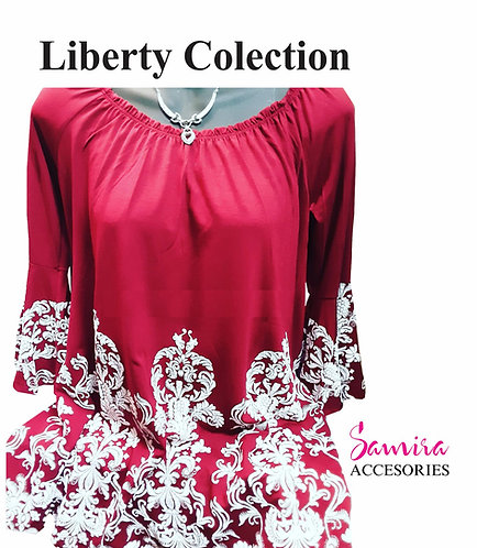 Vestido Liberty Colection