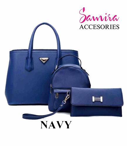 Kit Bolso Royal blue