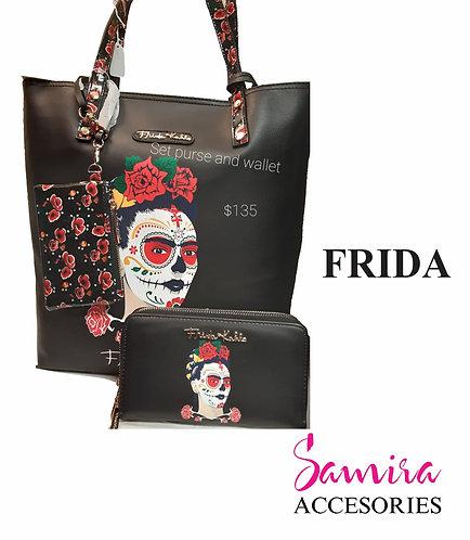Kit Purse and Wallet Frida