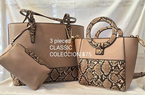 Kit Bolso Classic Collection W56