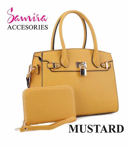 Kit Bolso Mustard