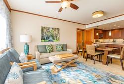Koloa Condo Living Room