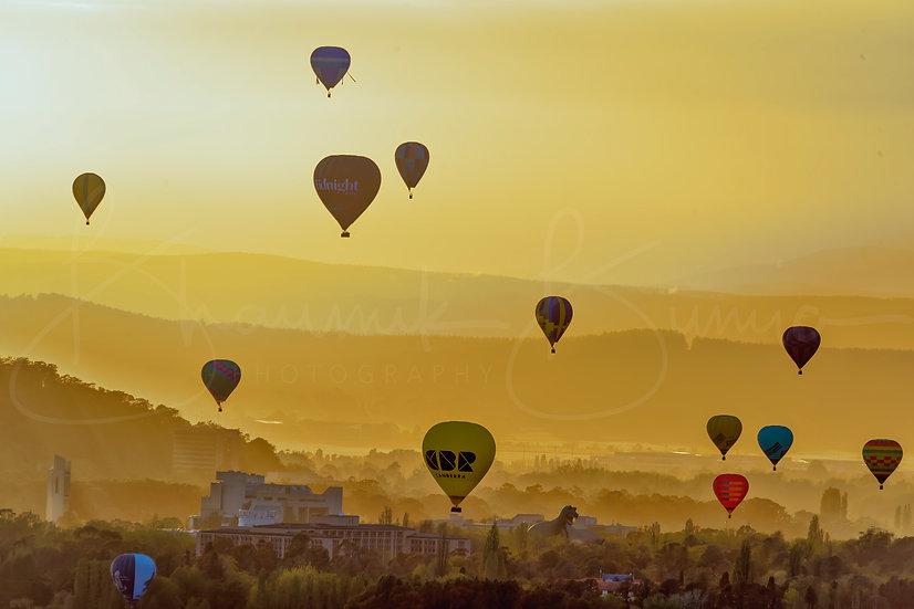 Balloons Day - Sunrise