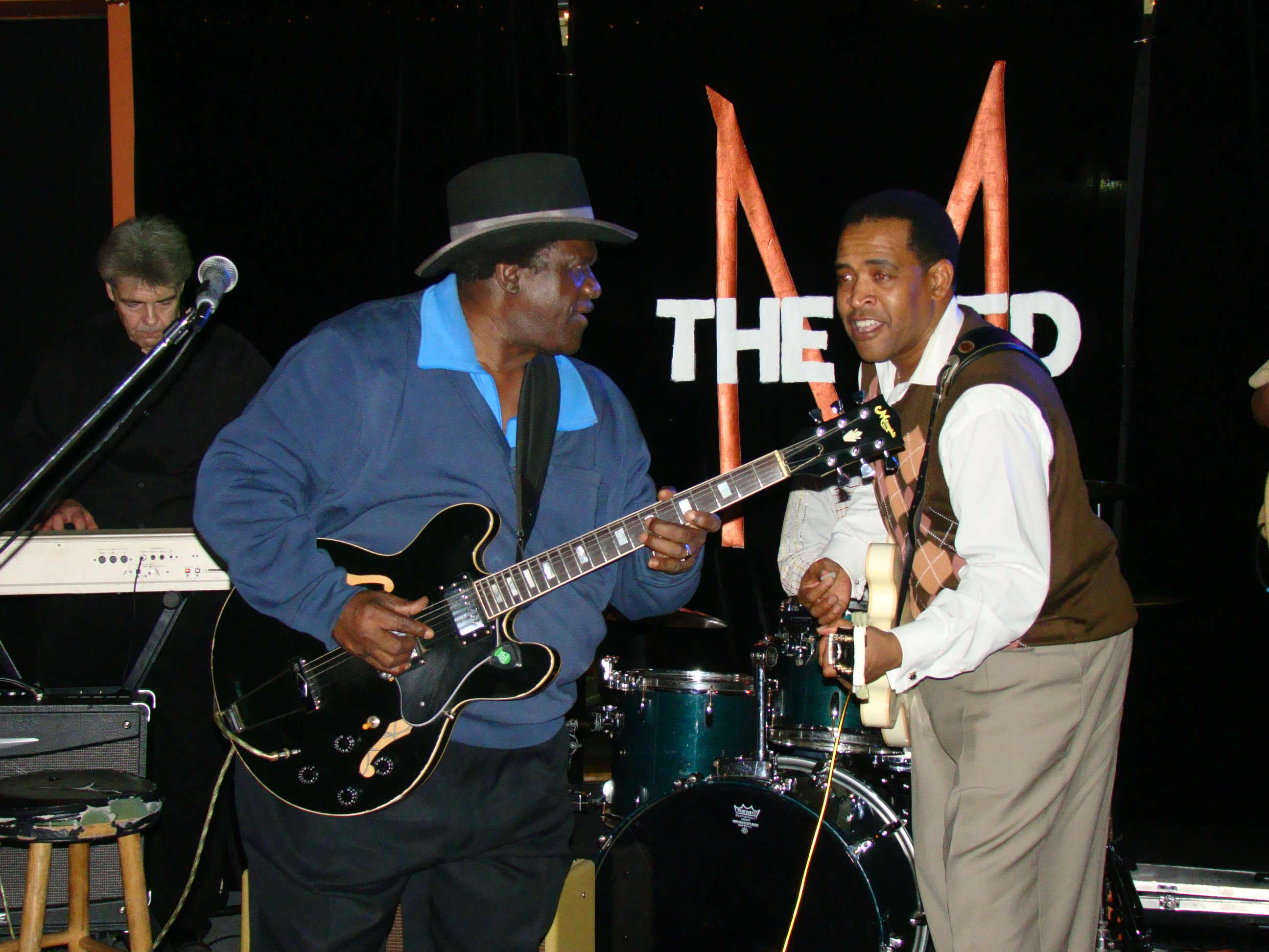 Bluesmen King Edward & Eddie Cotton