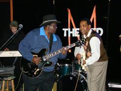 Bluesmen King Edward & Eddie Cotton