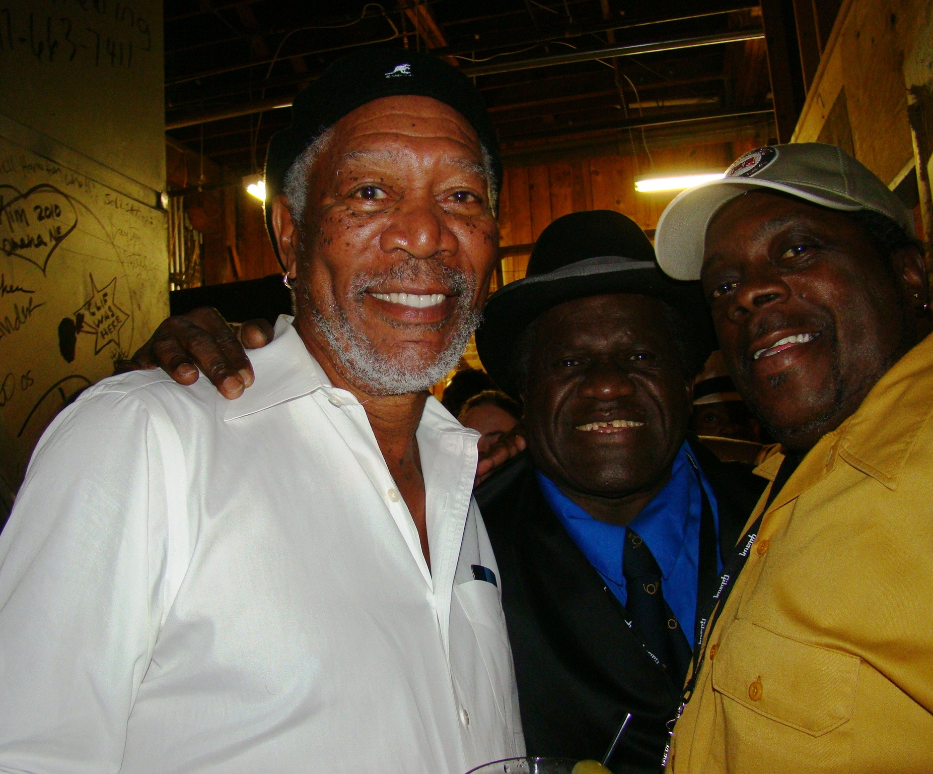Morgan Freeman, King Edward, Rick Lewis