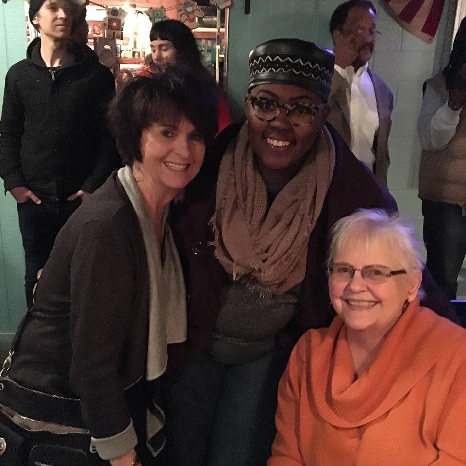 Carol, Maya & PB