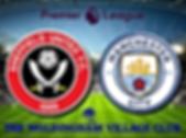 Sheffield v Manchester City in stadium.p