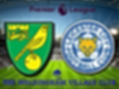 Norwich City v Leicester City in stadium