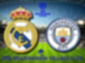 Real Madrid v Manchester City in stadium