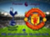 Tottenham v Manchester United  in stadiu