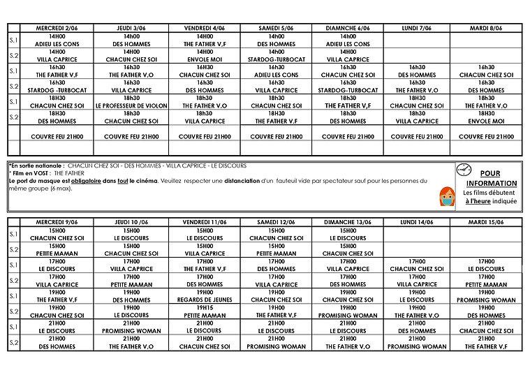 2Grille programme du 2 JUIN AU 15 JUIN 2