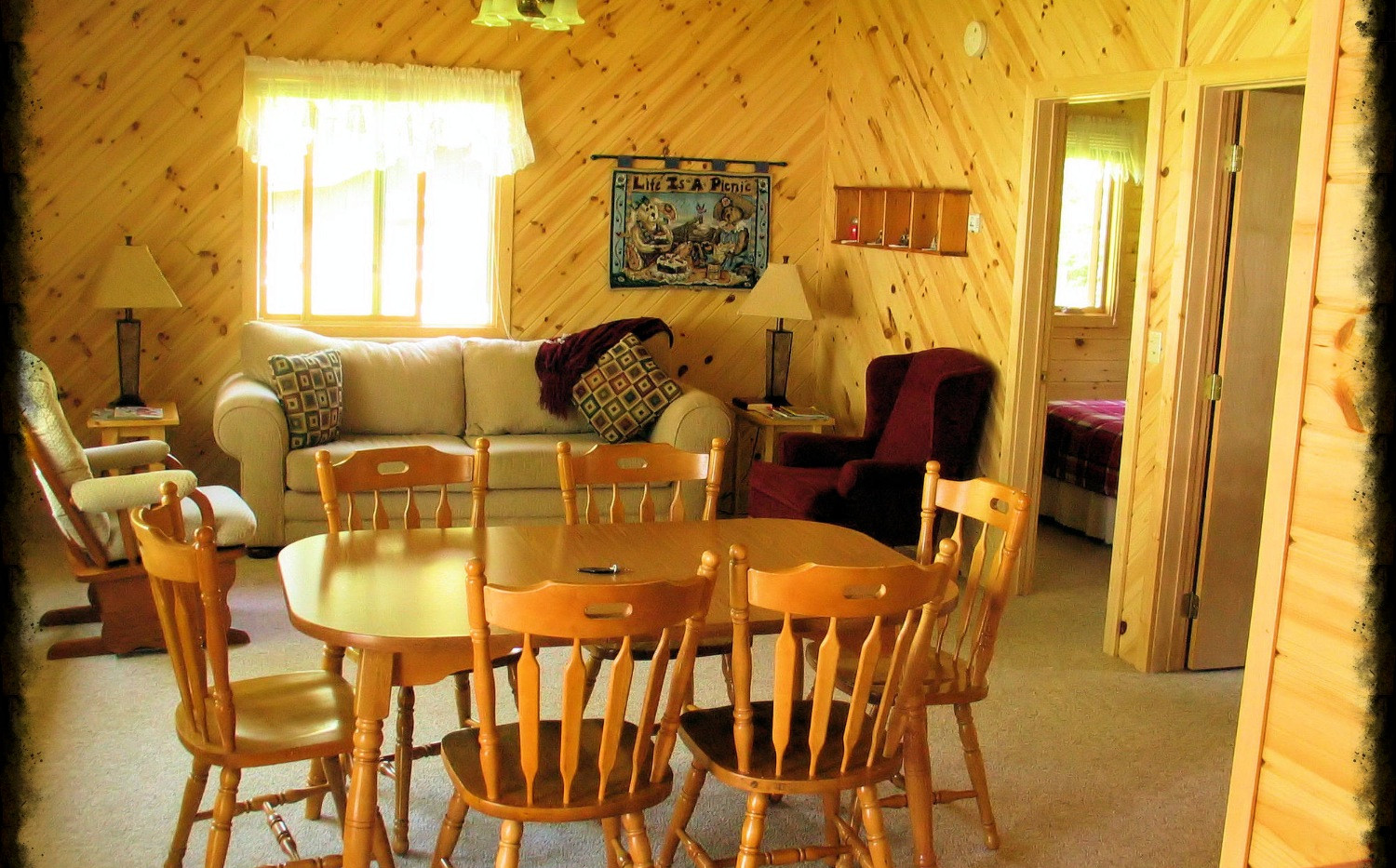 One of our three bedroom cabins, Elk