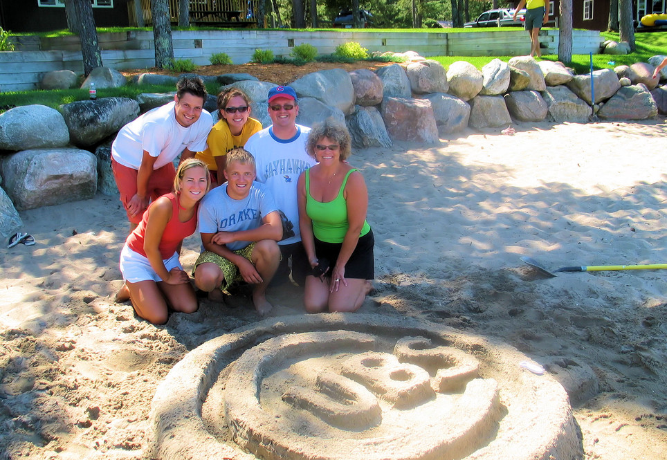 Show off your creativity at our sand castle contest